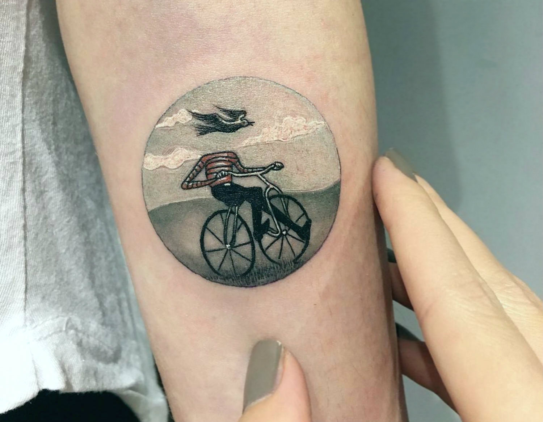 evakrbdk miniature tattoo