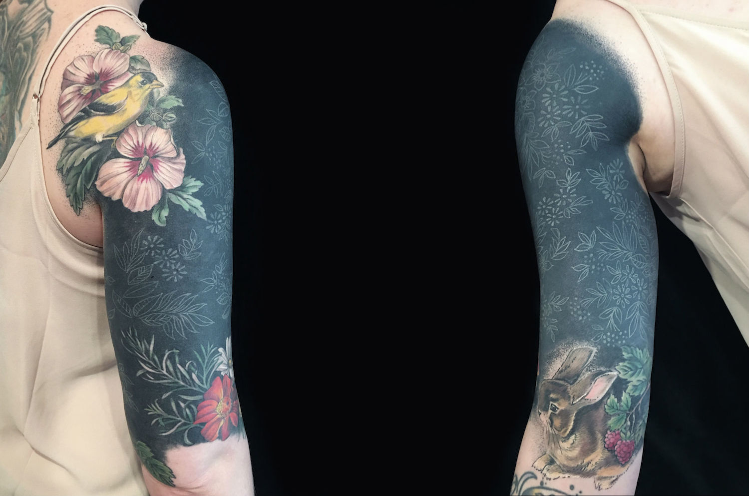 White On Black Tattoo Experiments Scene360