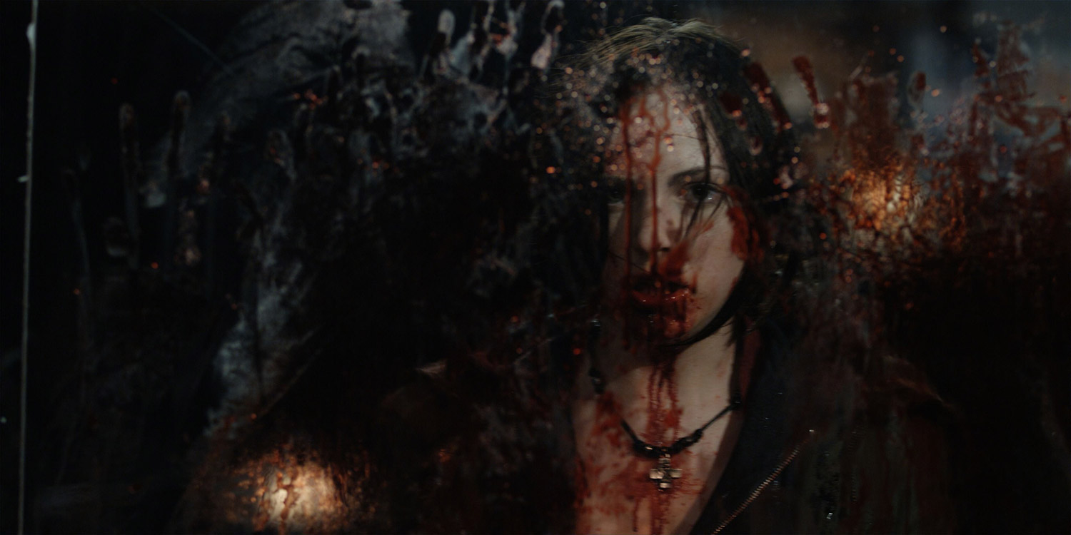 Canadian Horror Films - Pontypool, zombie girl
