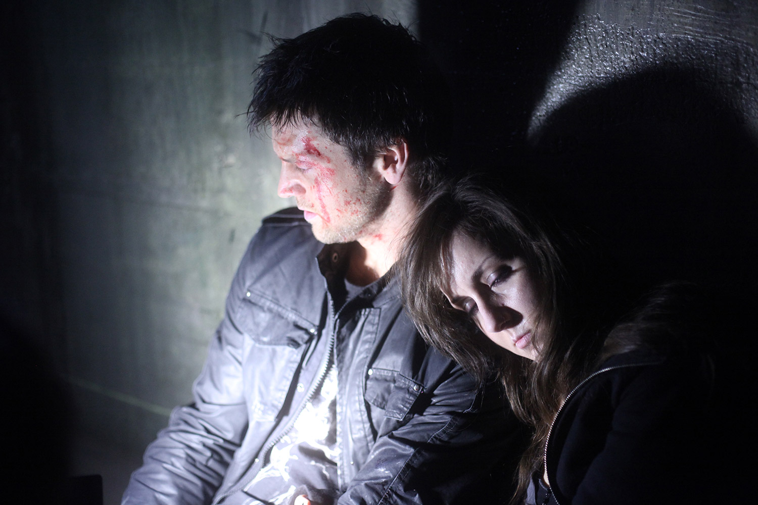 Canadian Horror Films - Grave Encounters, exhausted characters