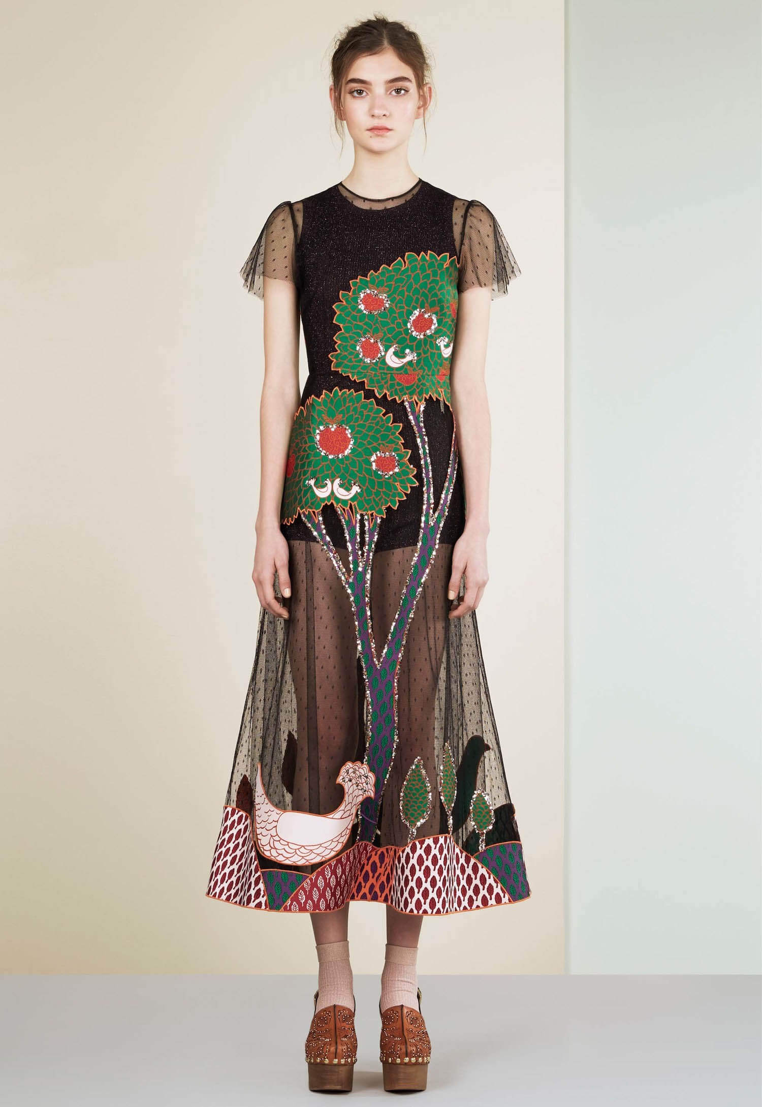 landscape dress by red valentino
