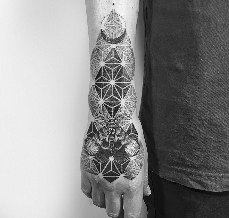 Etching Inspired Tattoos By Robert Pavez Scene360
