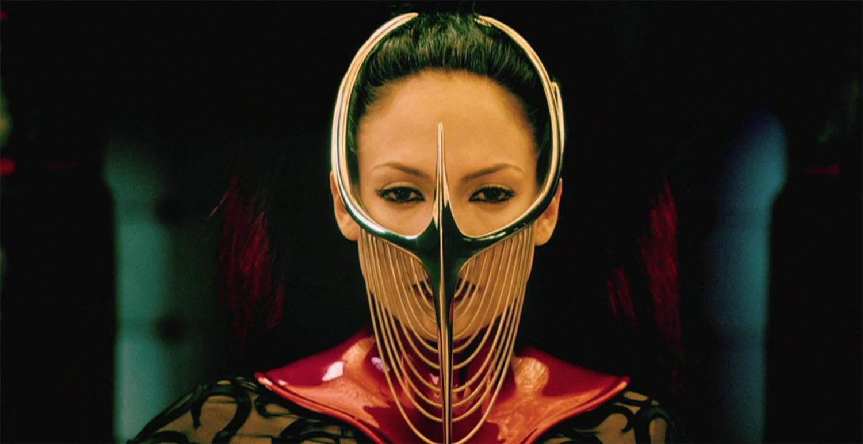 jennifer lopze with mask, The cell