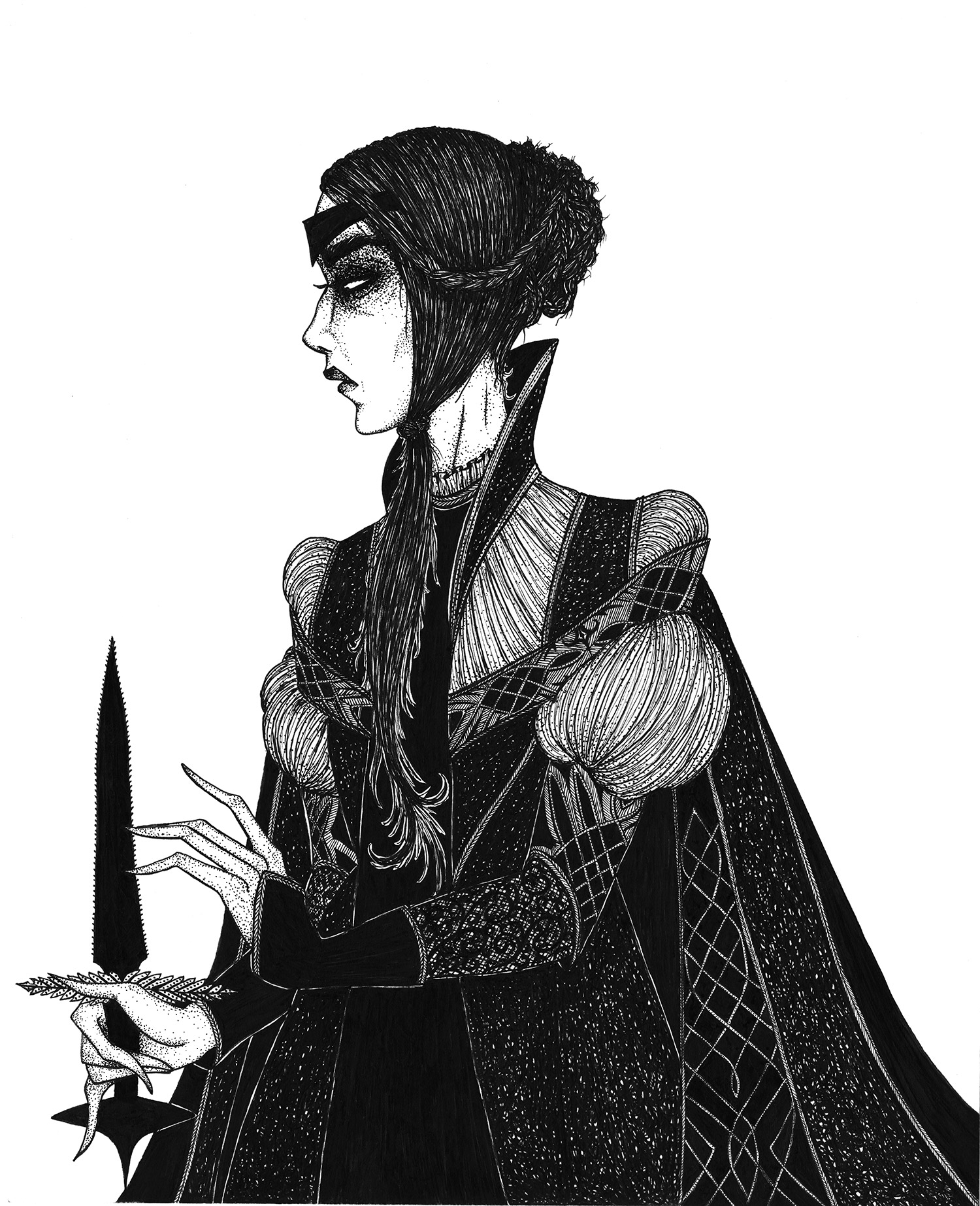Hogan Mclaughlin - illustration, Lady Macbeth