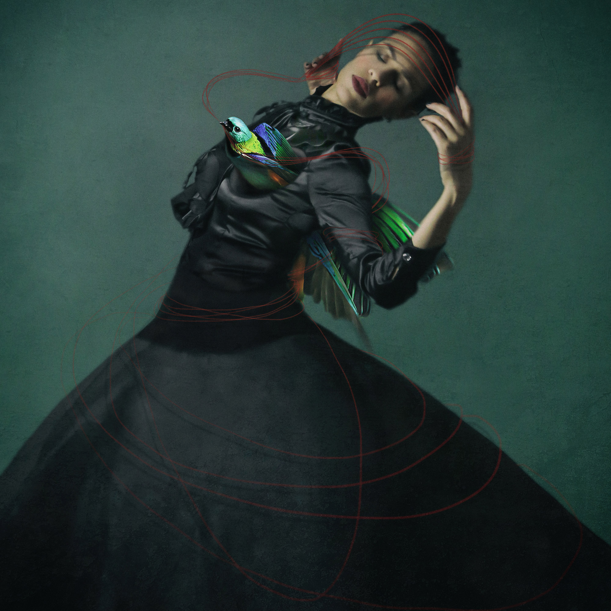 Dance and Surrealism in Josephine Cardin's Self-Portraits