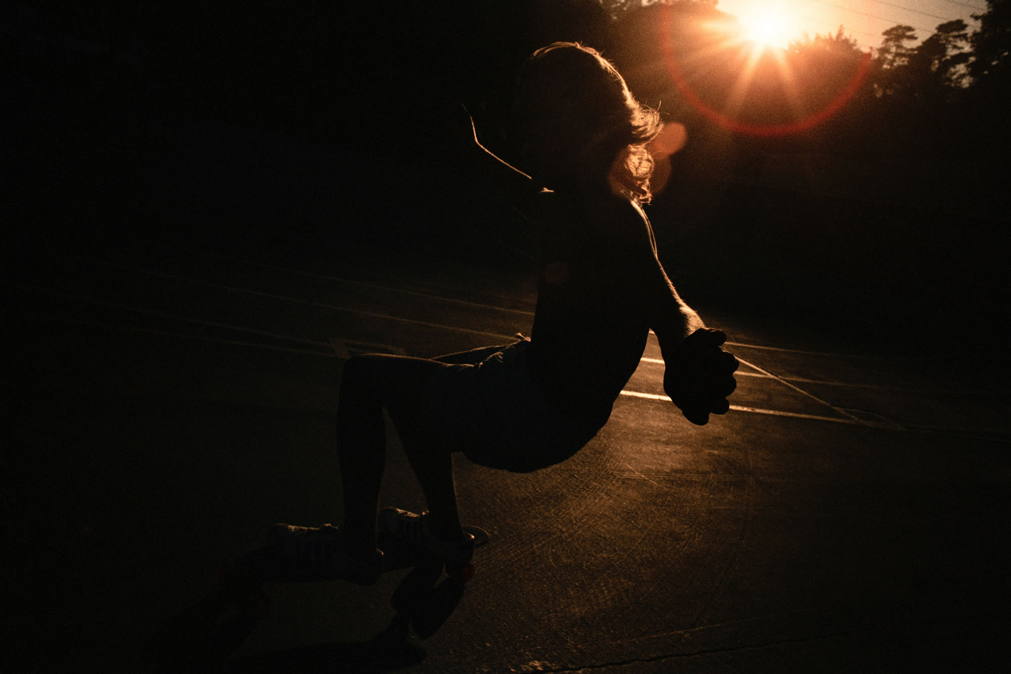 skater, last light by hugh holland
