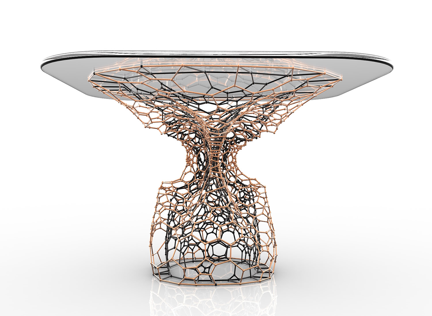 Cellular Table Coffee Table by Onur Ozkaya