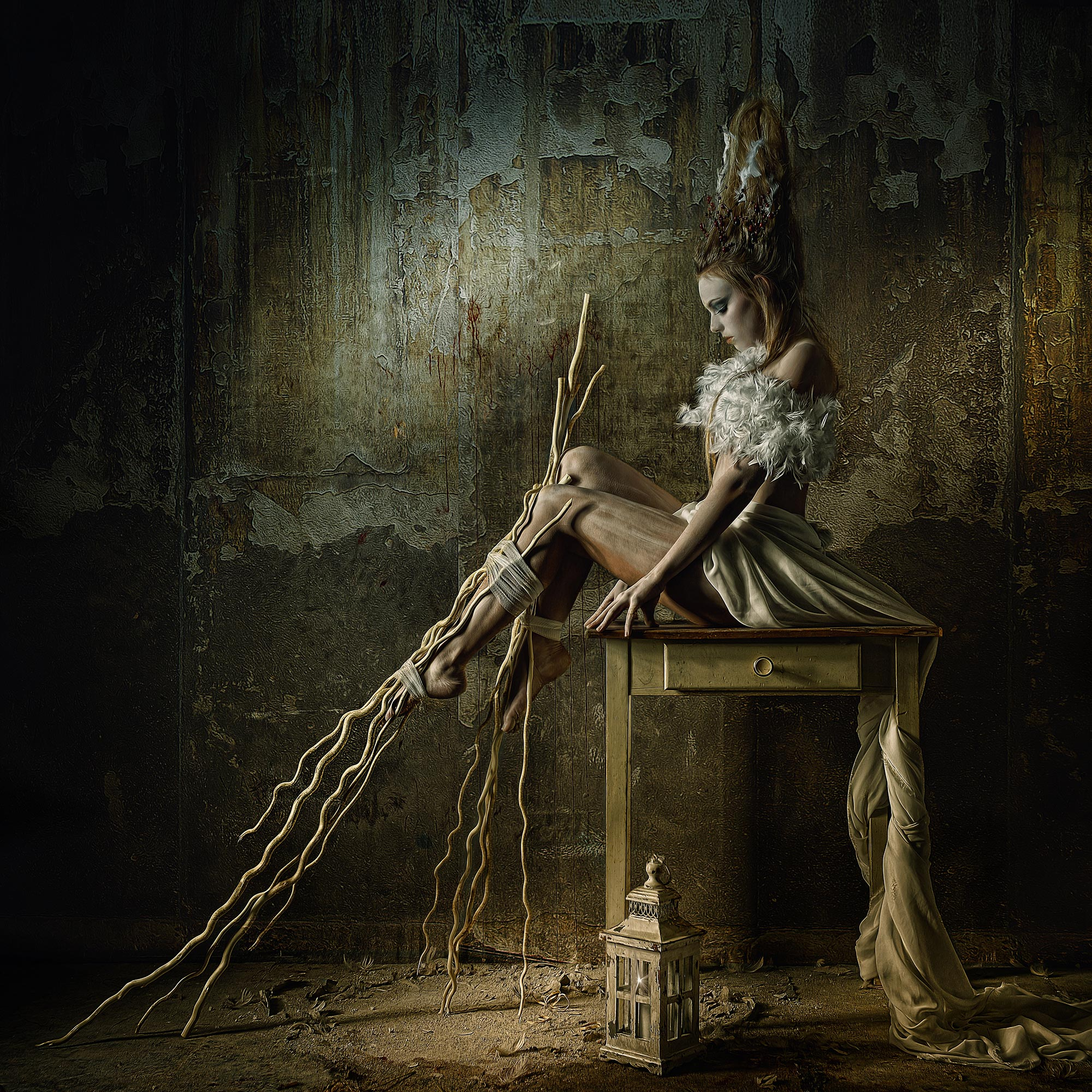 Dark Fantasy and Industrialism in Stefan Gesell's Otherworldly Portraiture