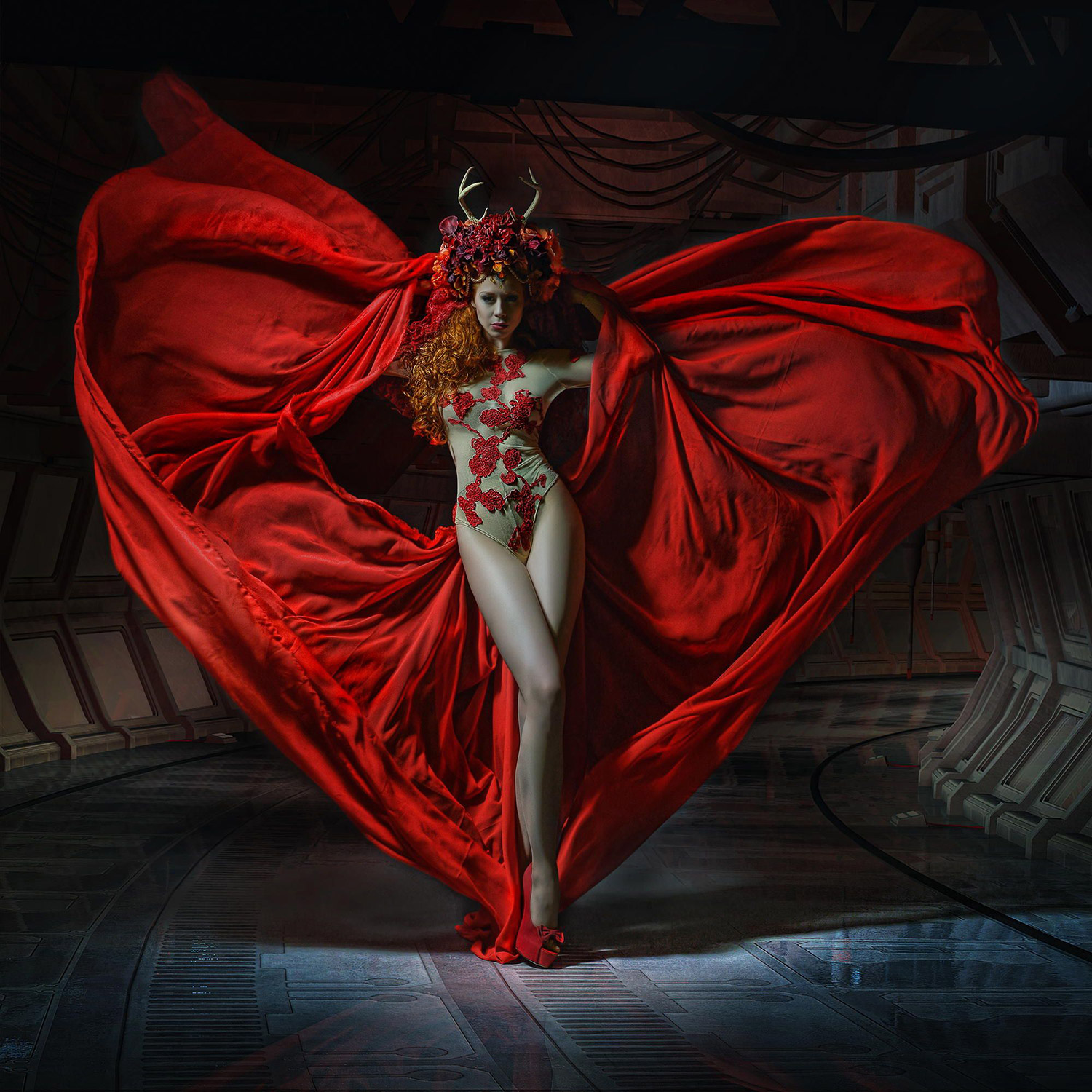 Stefan Gesell - Captain of the Hearts, model Ophelia Overdose