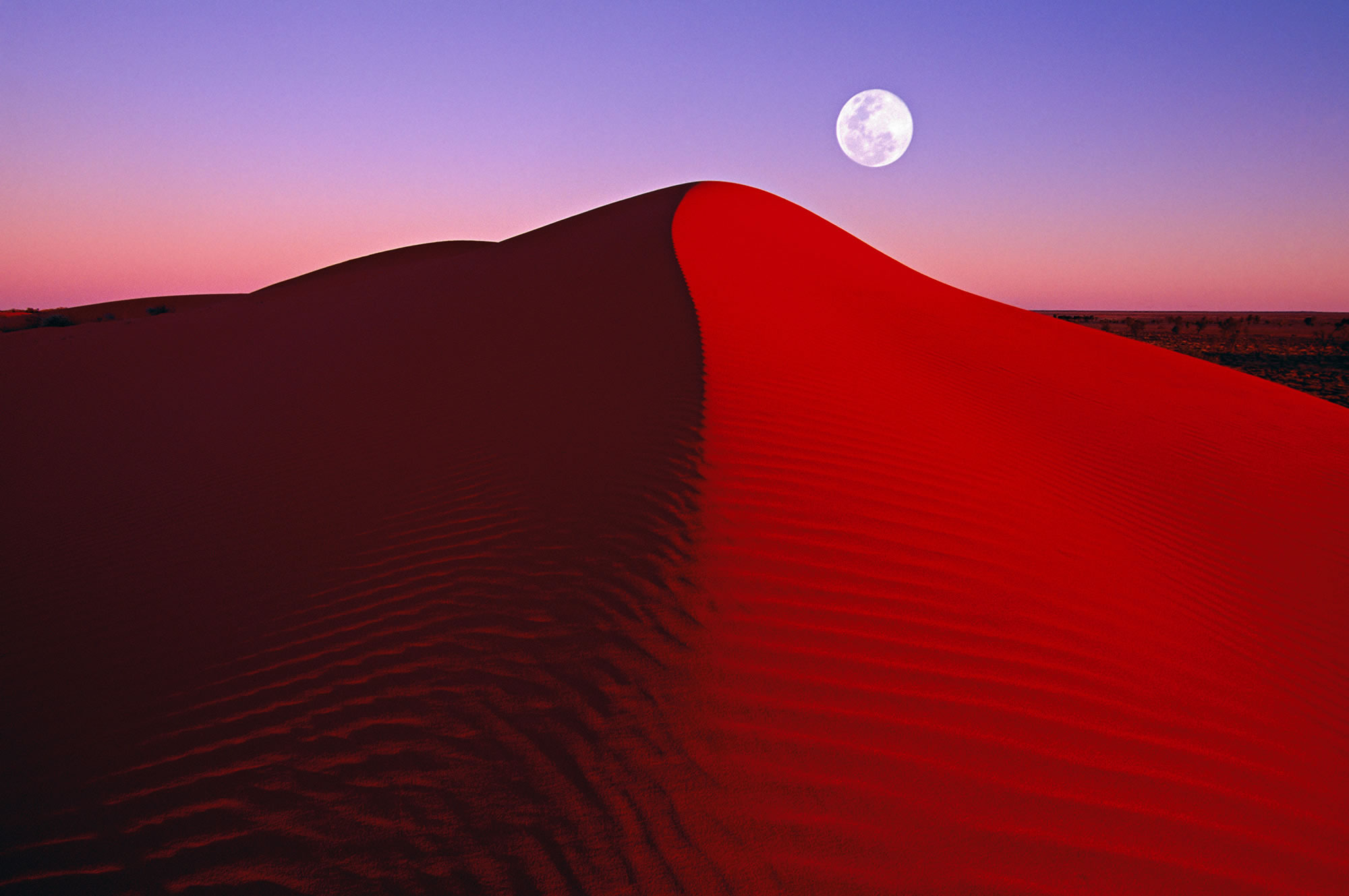 red desert, landscape photography by peter lik