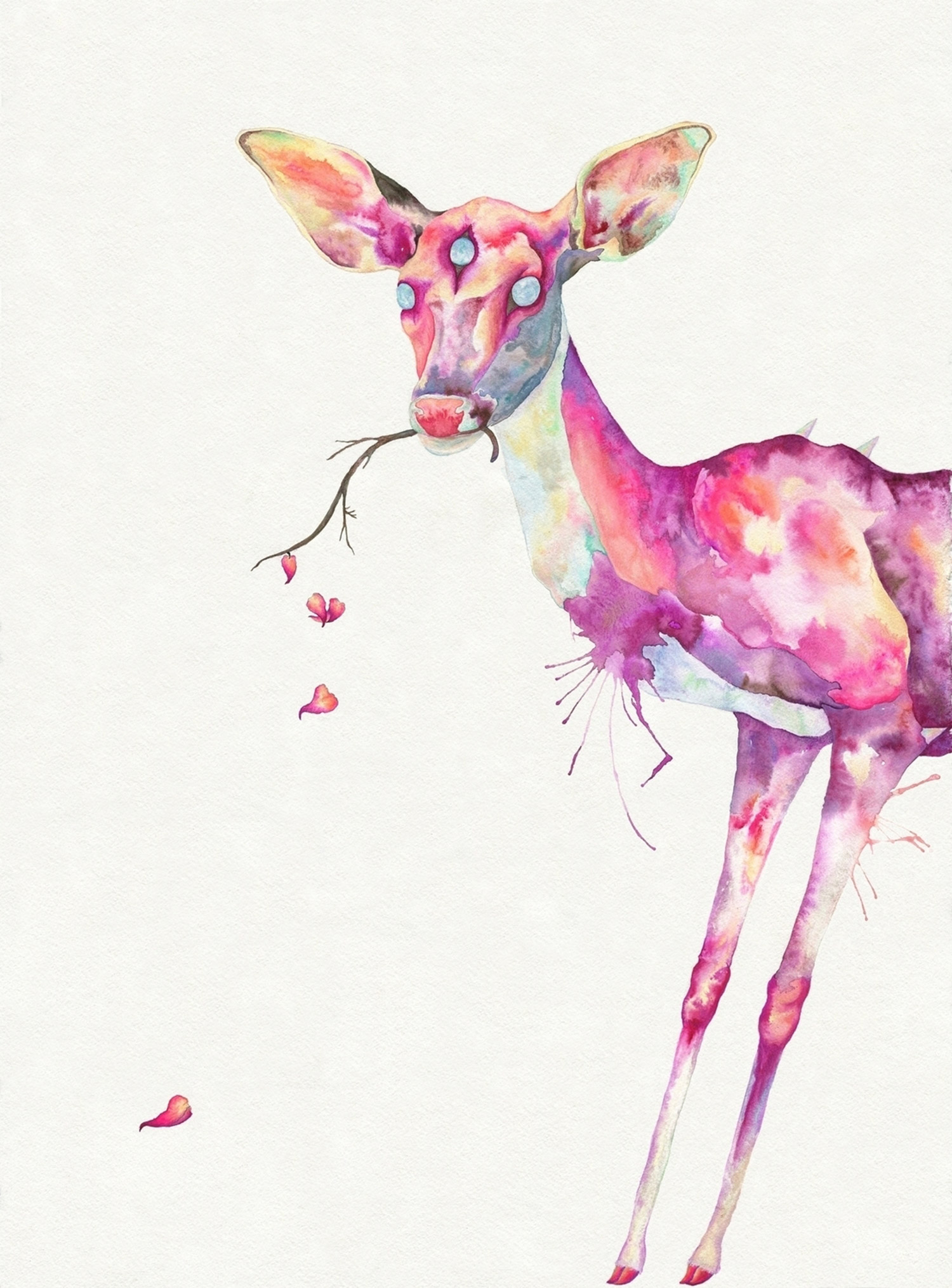 Hannah Ward - three-eyed deer