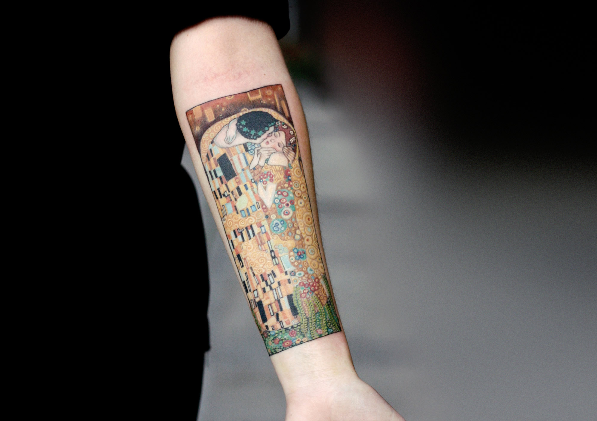 Gustav Klimt Inspires Tattoo Artists
