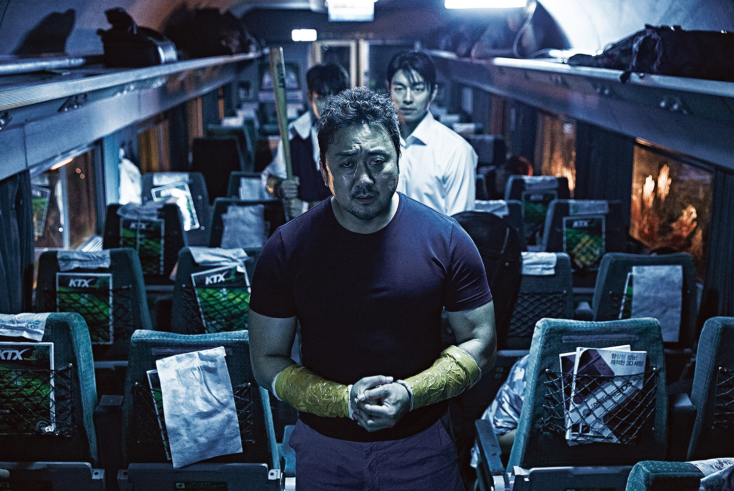 Post-Apocalyptic Movies - Train to Busan, on train