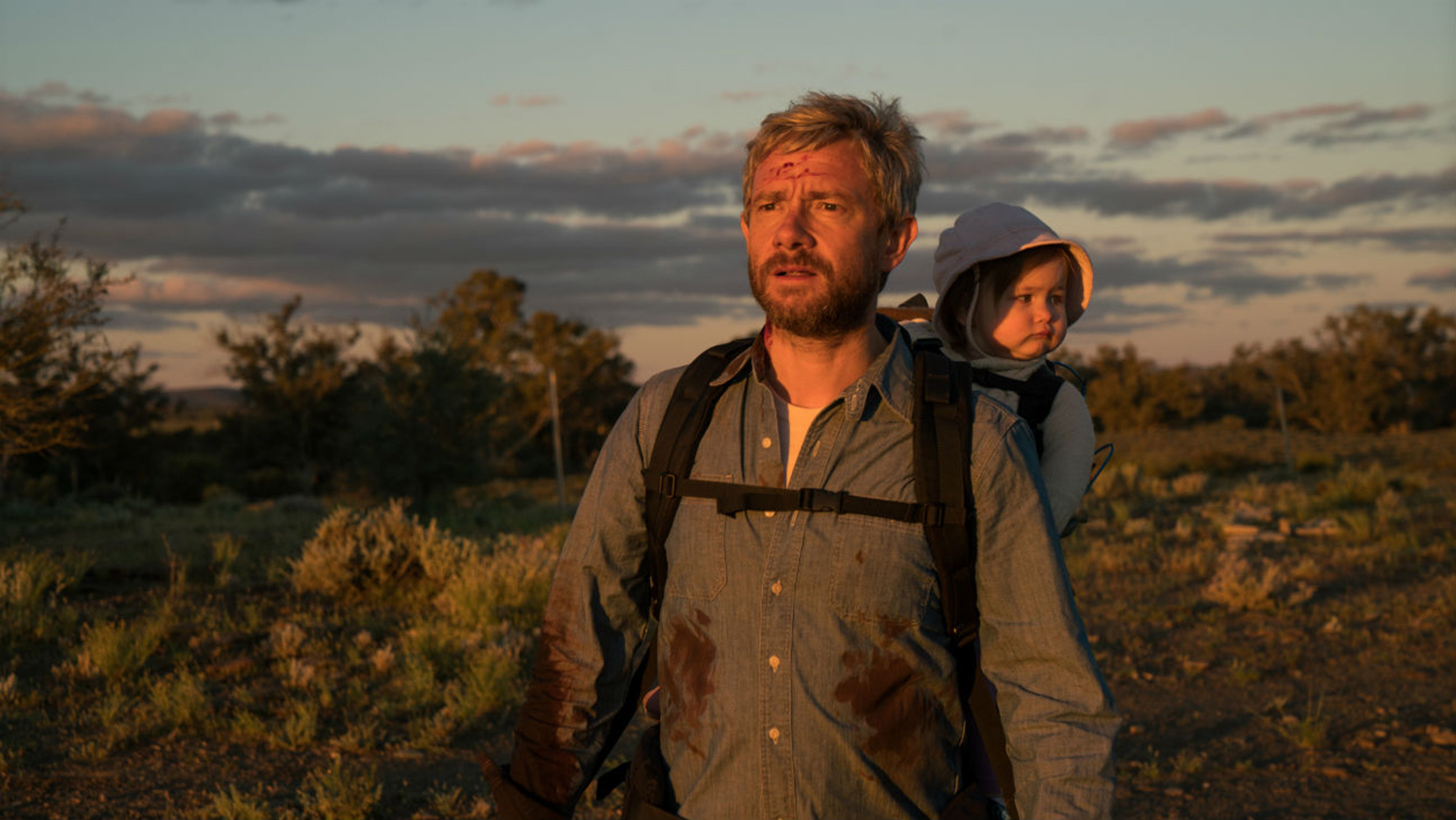 Post-Apocalyptic Movies - Cargo, 2017, father and child