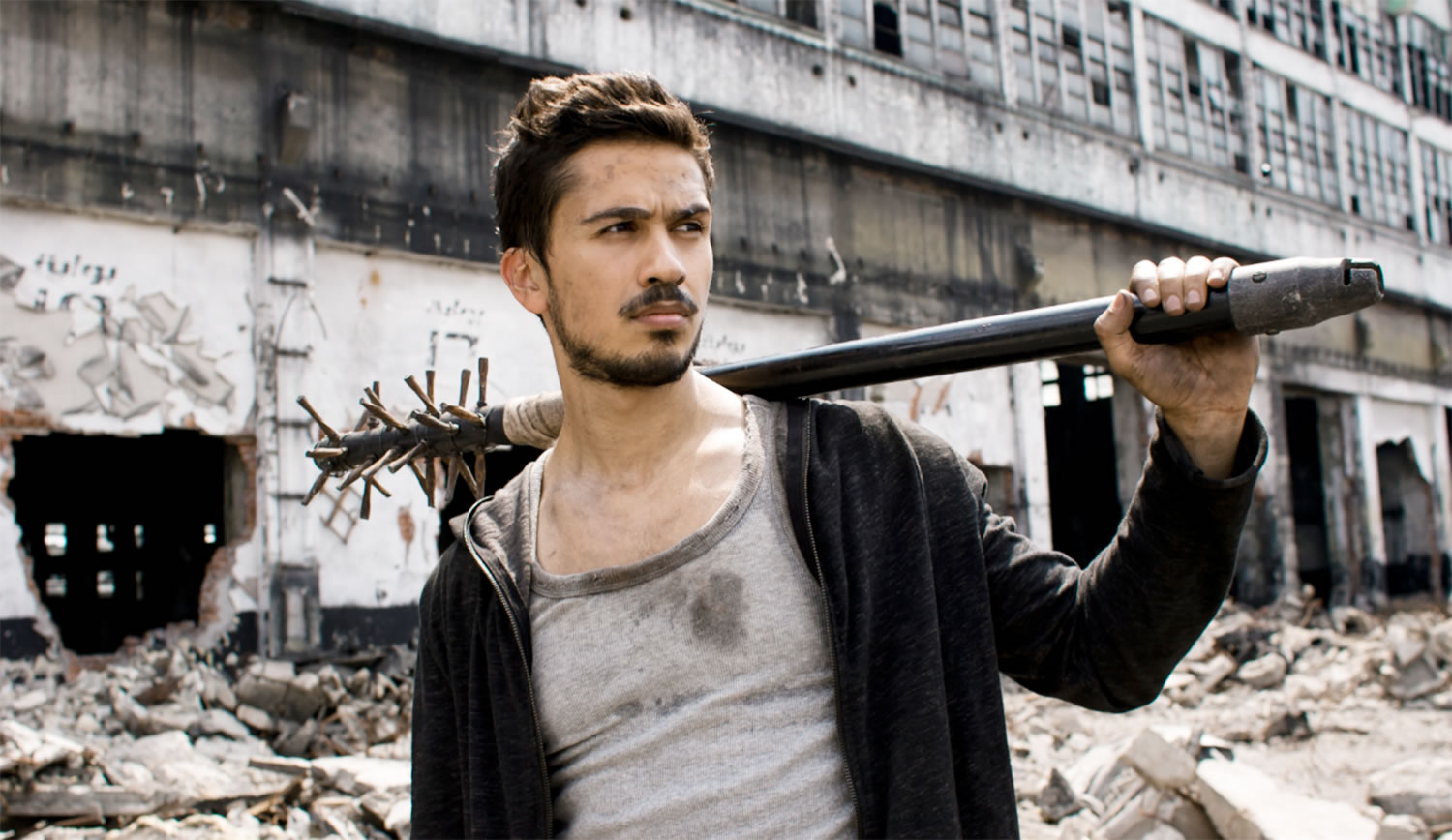 Post-Apocalyptic Movies - The Worthy, Ali F. Mostafa, baseball bat