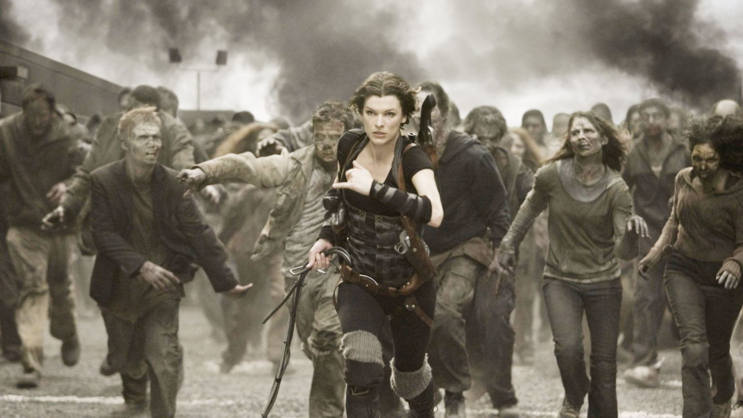 Post-Apocalyptic Movies - Resident Evil: The Final Chapter , milla jovovich in action