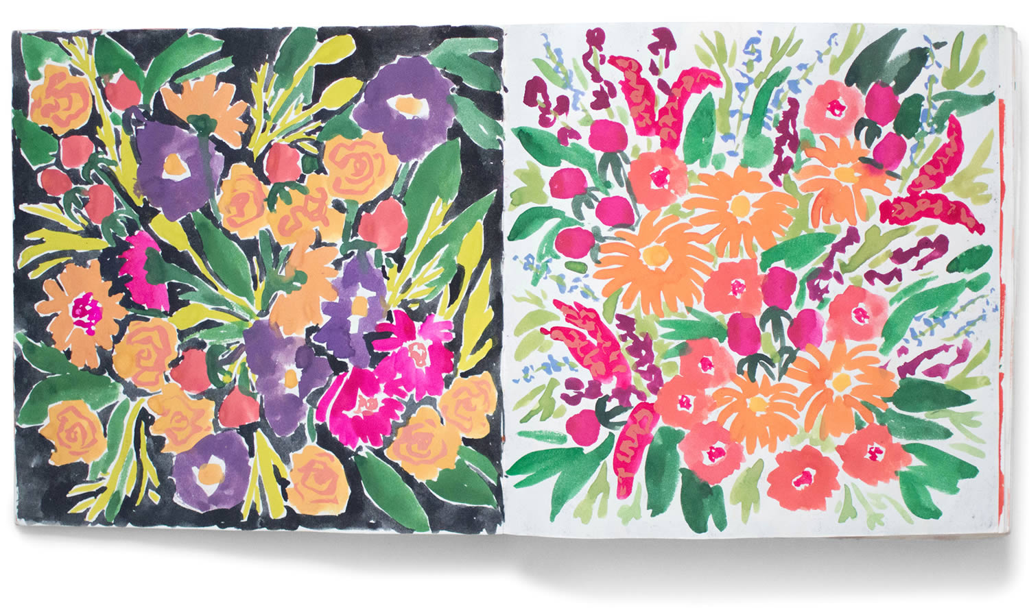 bright flowers by , by Leah Reena Goren