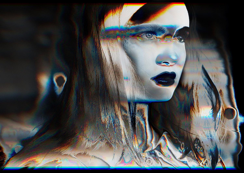 Antonella Arismendi - Glitchy portrait