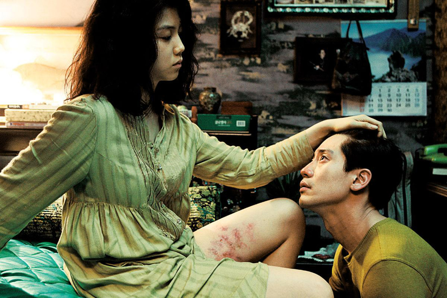 Dark Korean Erotic Films - Thirst, intimacy