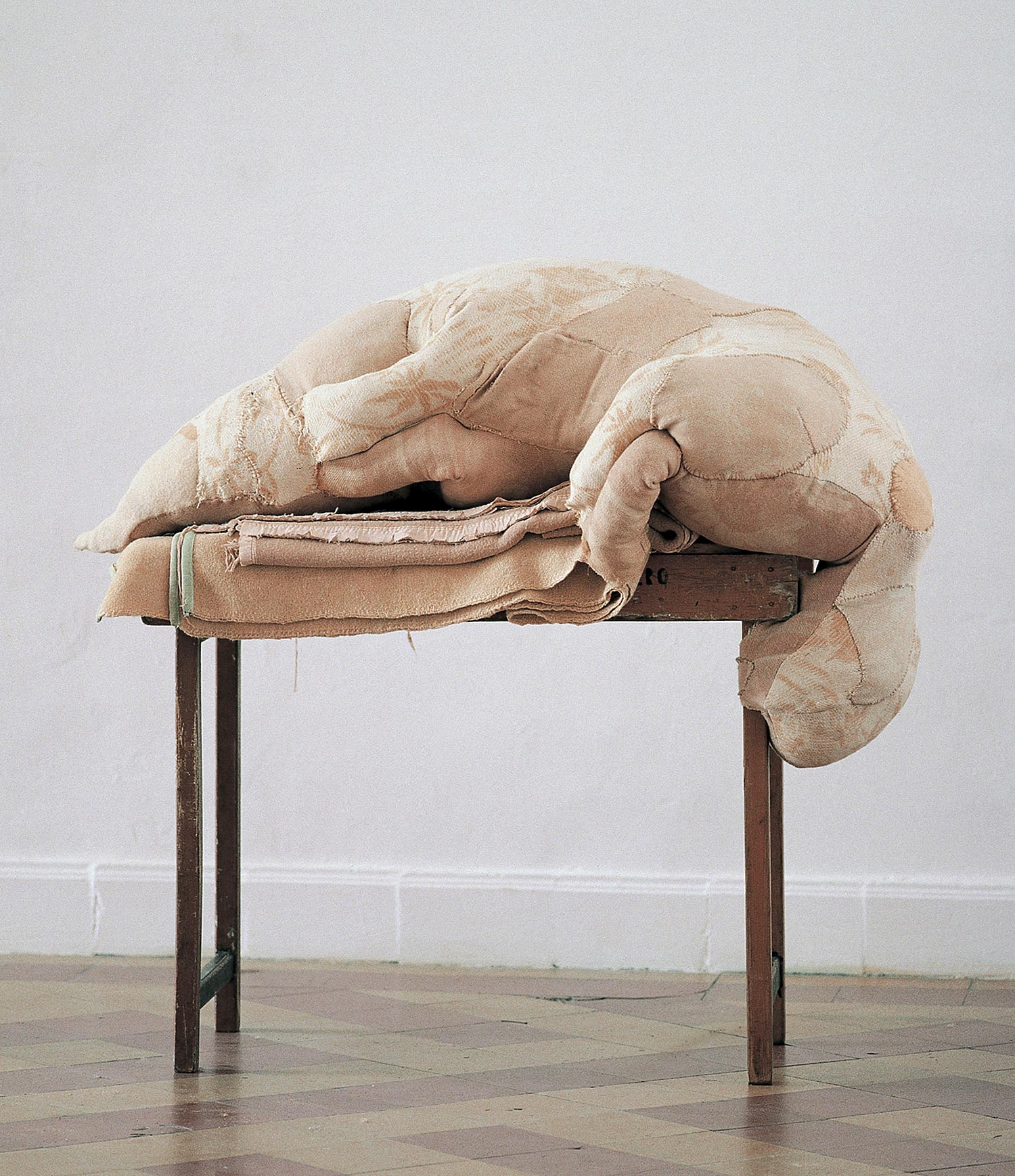 Berlinde de Bruyckere - dead sack sculpture