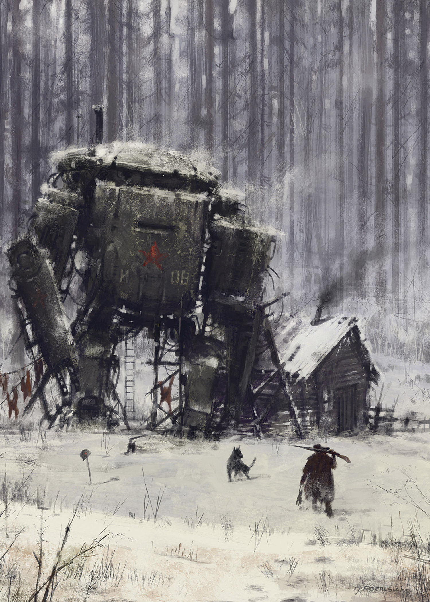 Jakub Rozalski - 1920, Retired Veteran