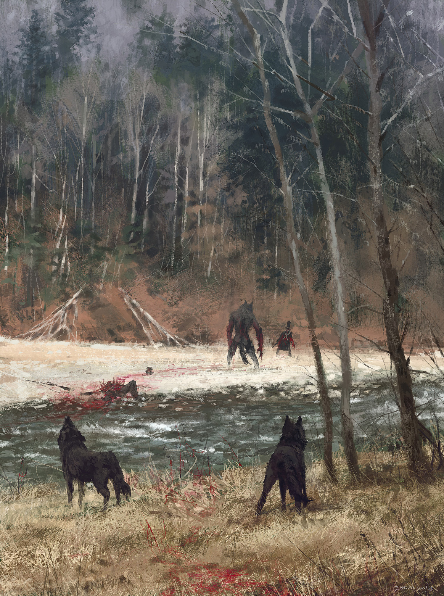 Jakub Rozalski - Colors of Autumn