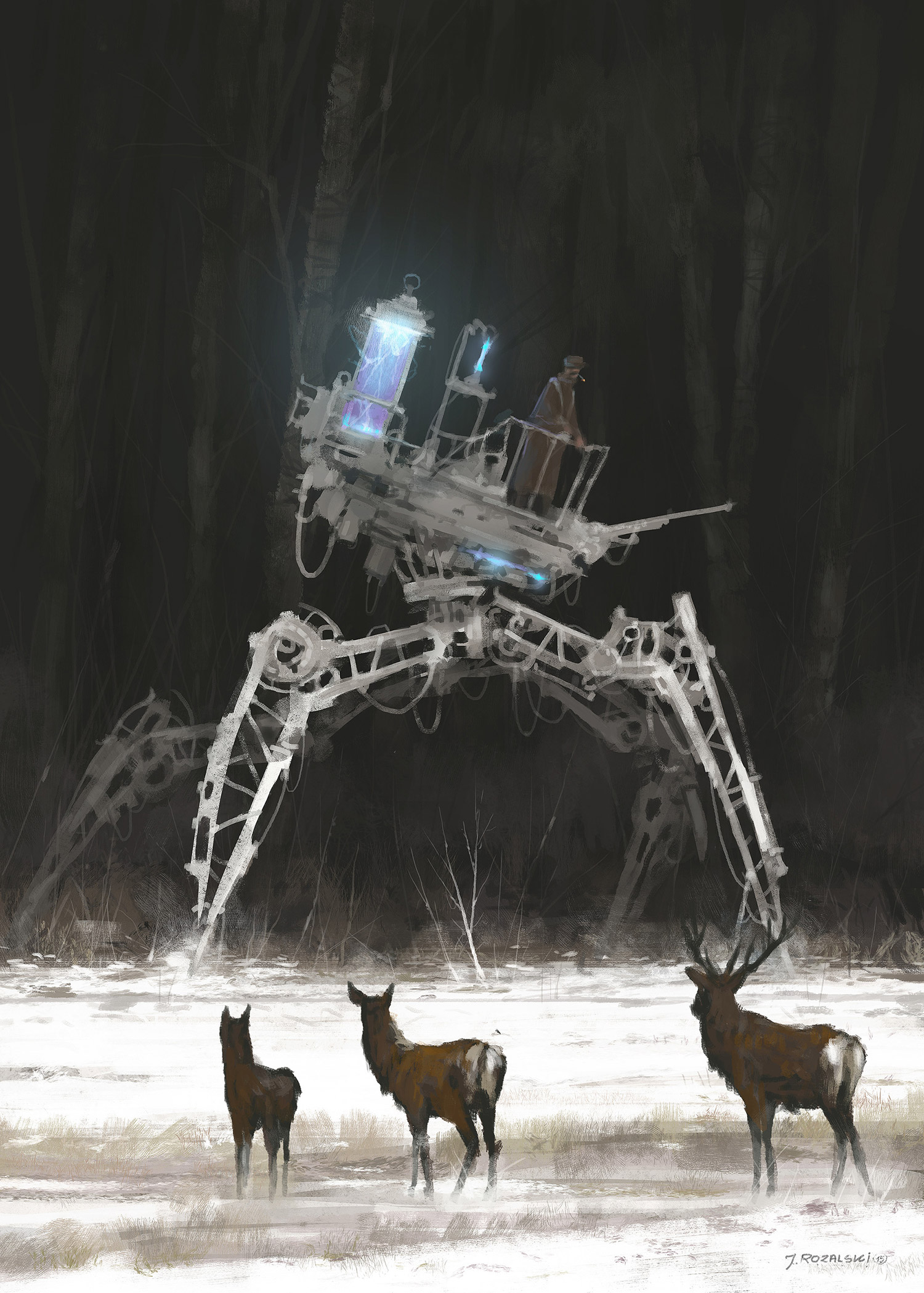 Jakub Rozalski - Dark Recruits
