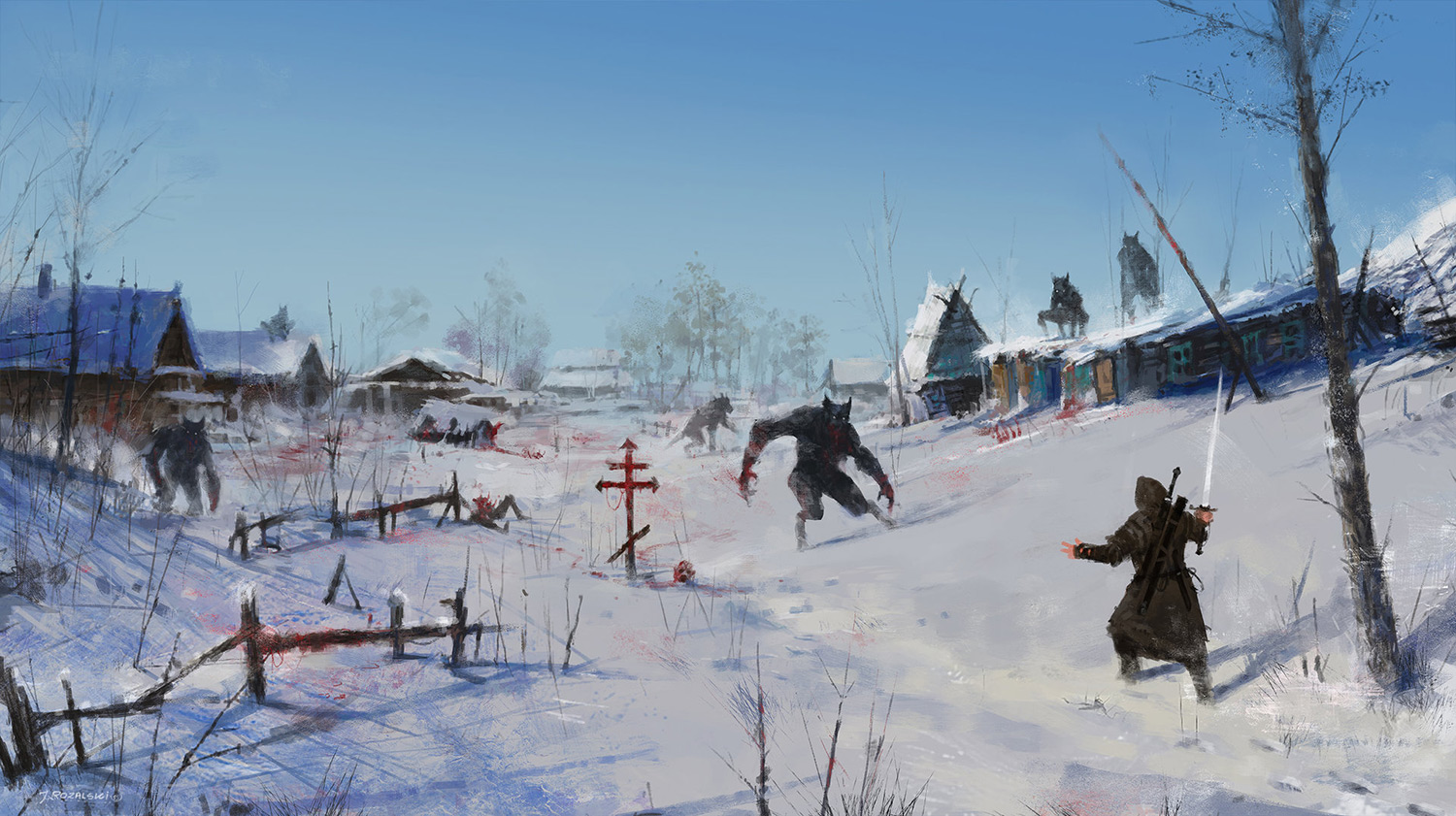 Jakub Rozalski - Very Severe Winter