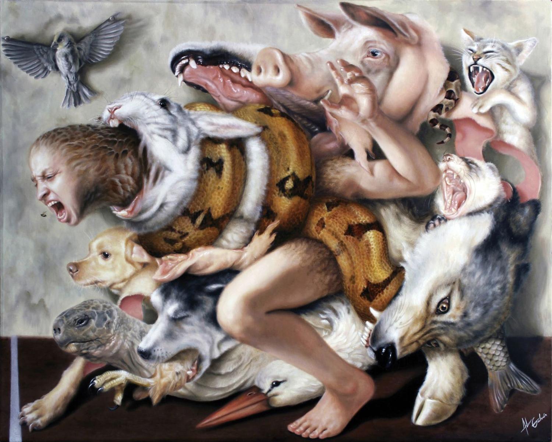 Jose Luis Lopez Galvan - animal horde