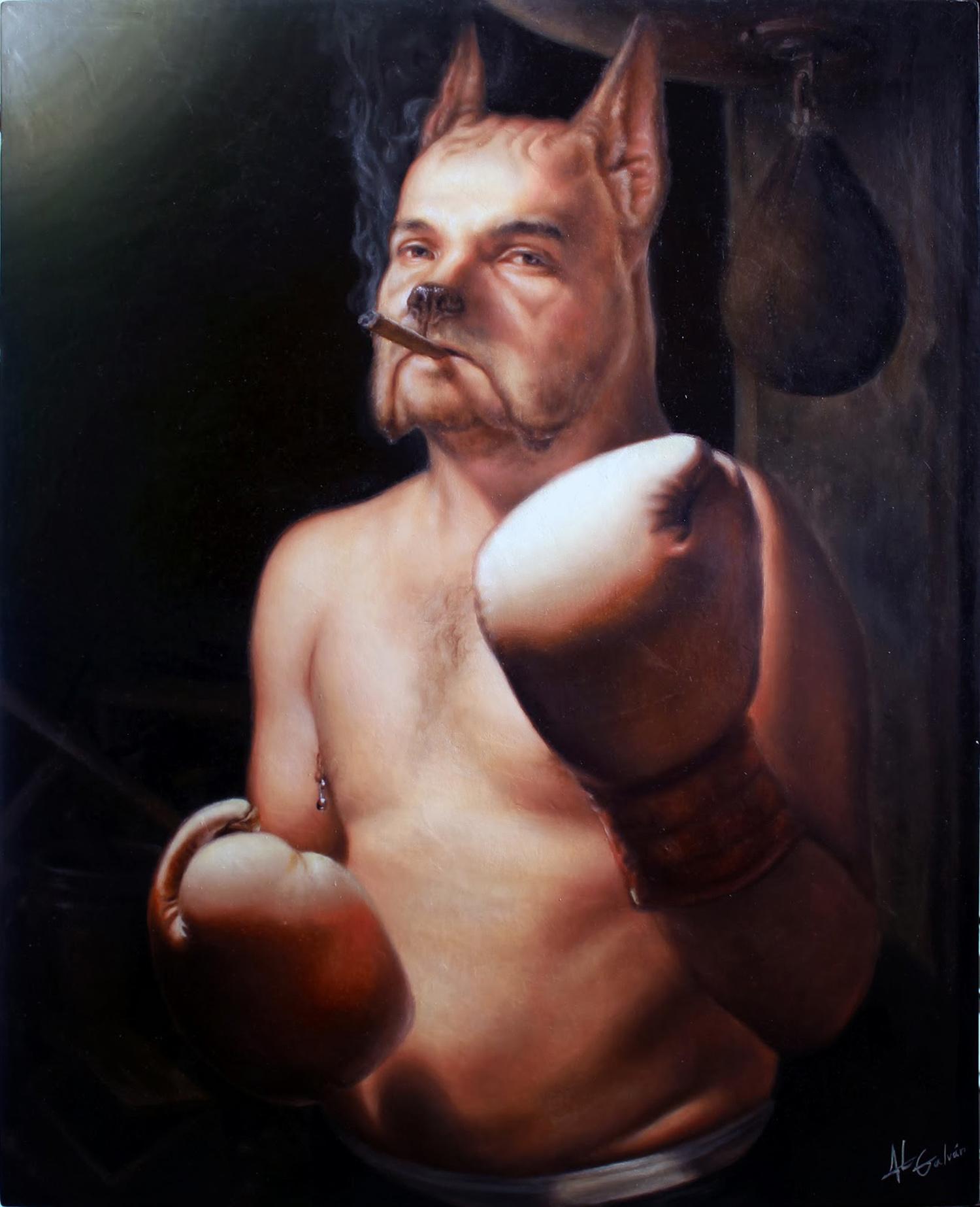 Jose Luis Lopez Galvan - pig man