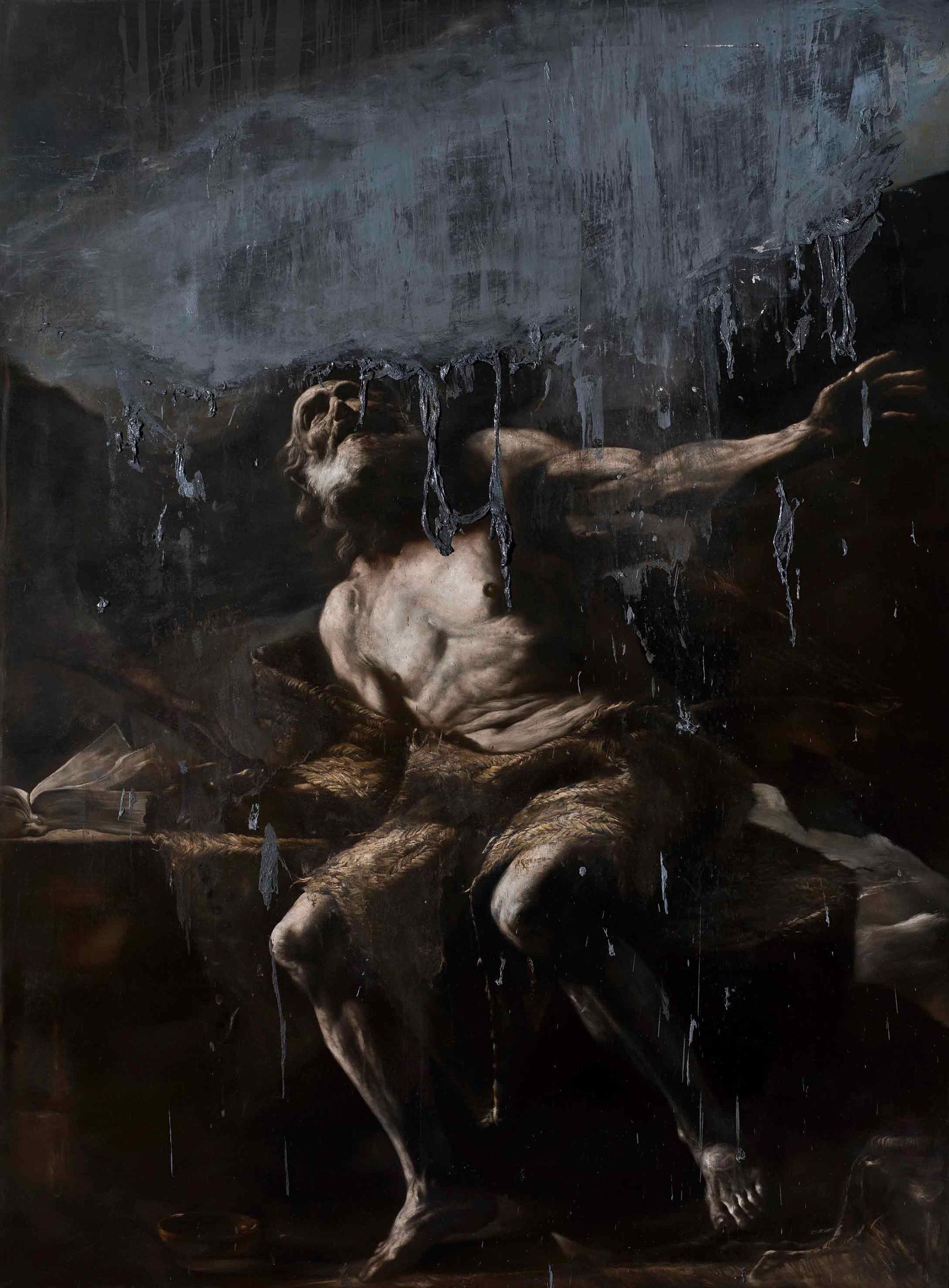 Nicola Samori - painting, Nubifregio