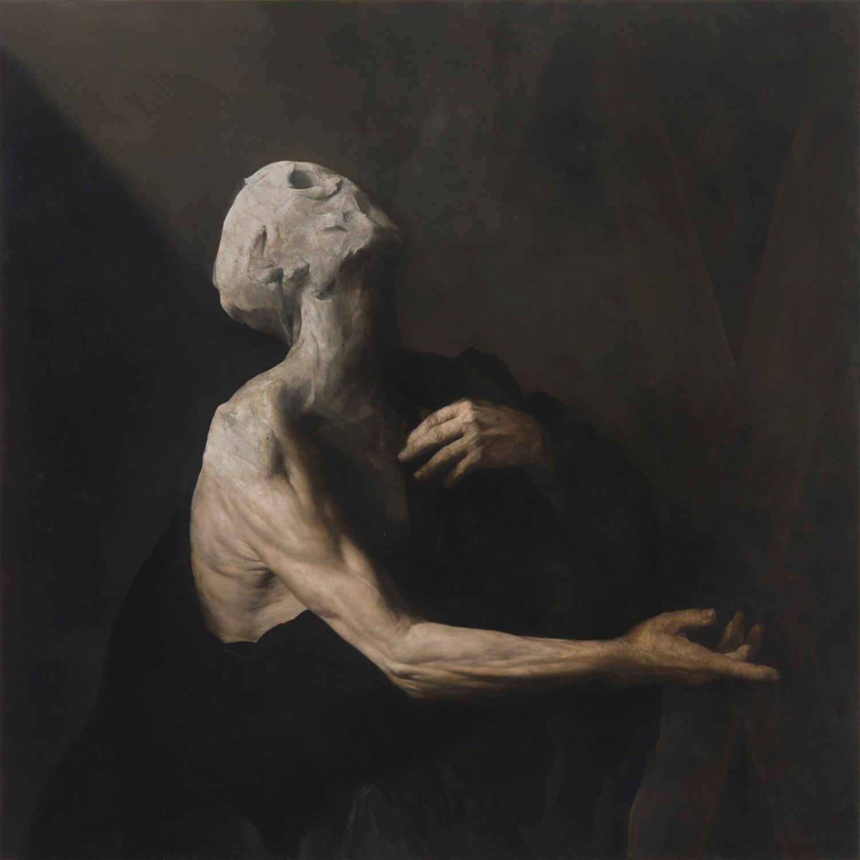 Nicola Samori - painting, L'Occhio Occidentale