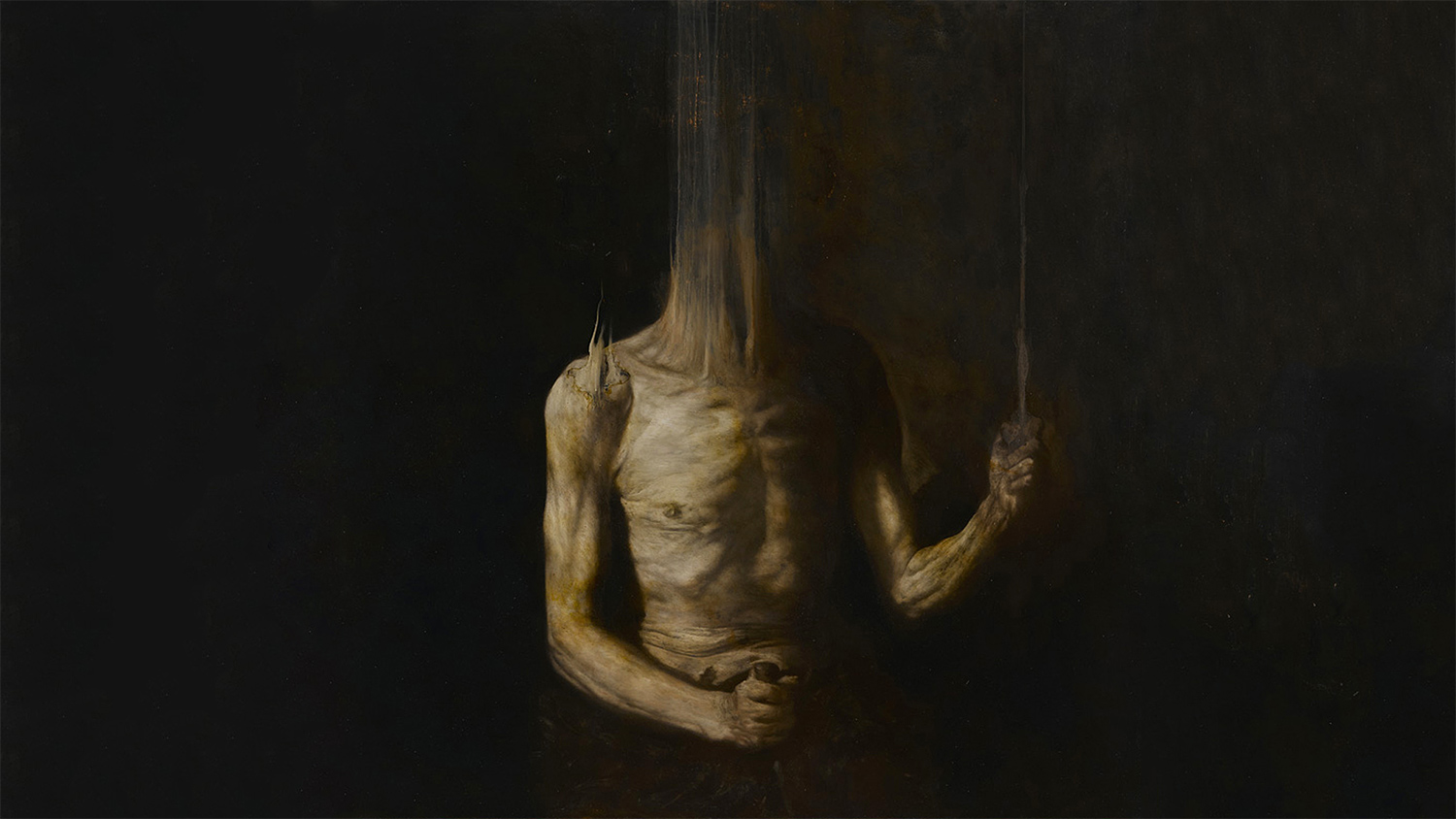 Nicola Samori - painting, The Limits of Control