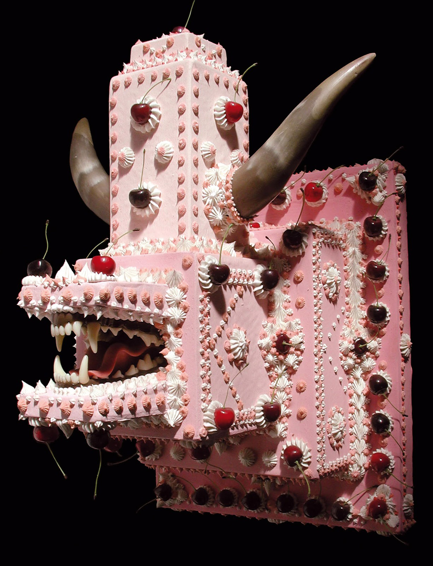 Scott Hove, Cake Fangs - pink demon cake