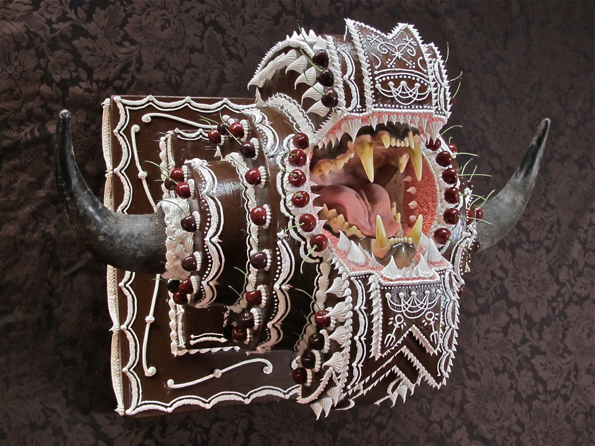 Cake Fangs: Sweetly Lethal Sculptures by Scott Hove