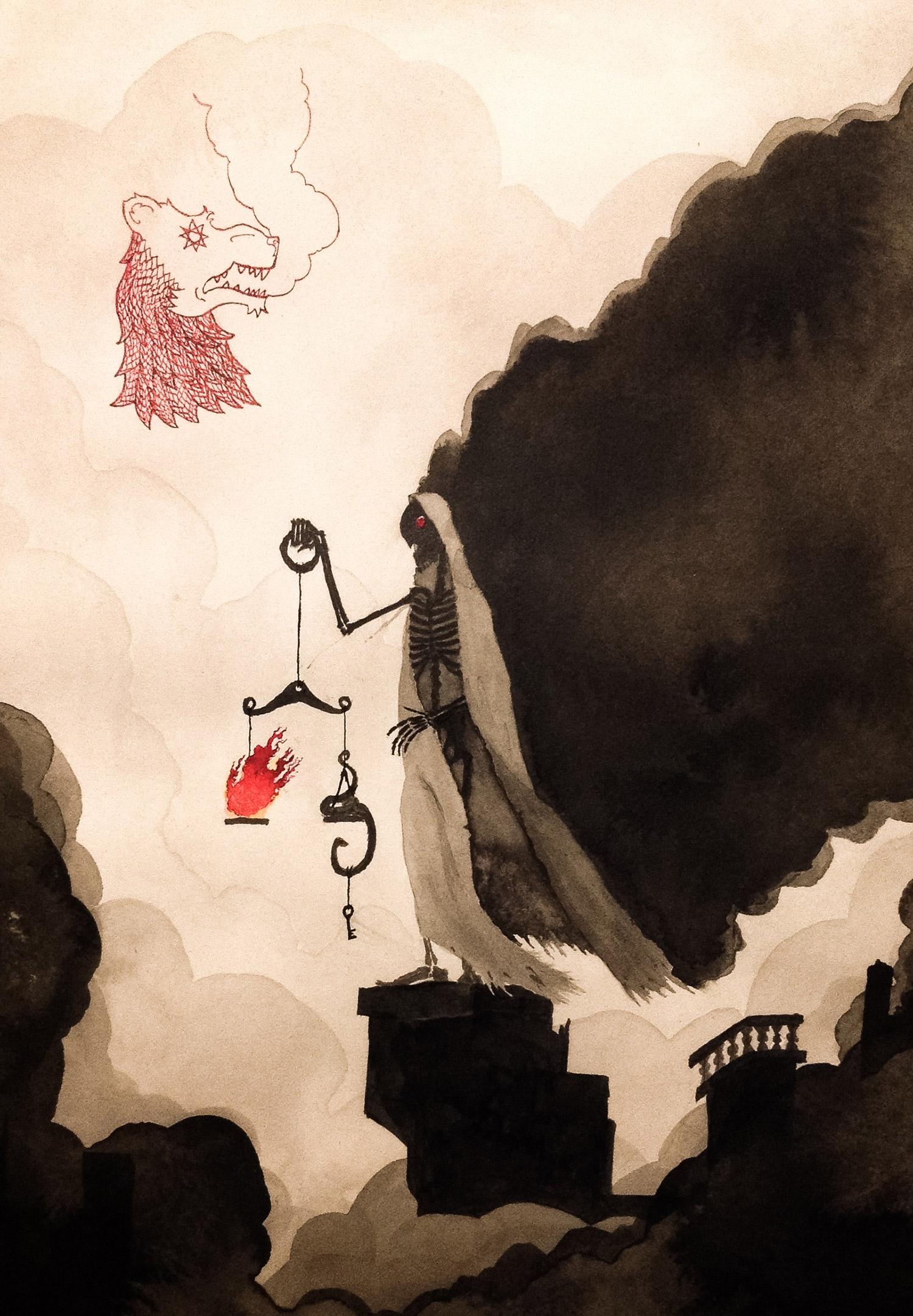 Valin Mattheis - Ye Clothed in Smoke