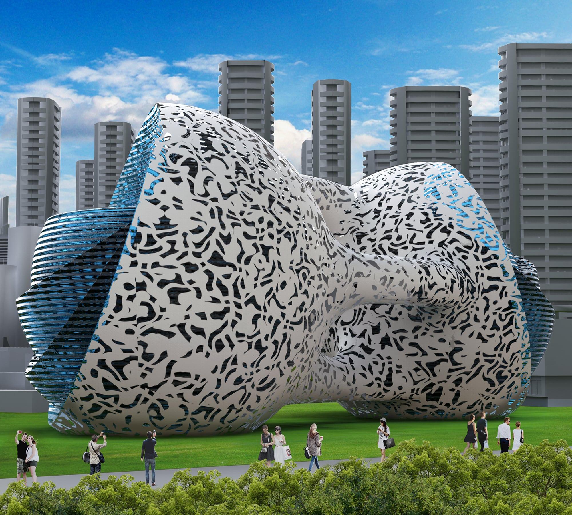 Quantum Building by Vasil Velchev
