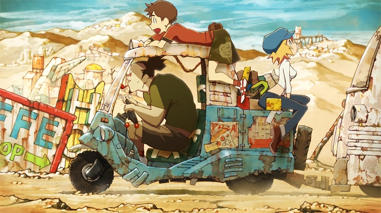 Anime movies 2017 red ash magicicada
