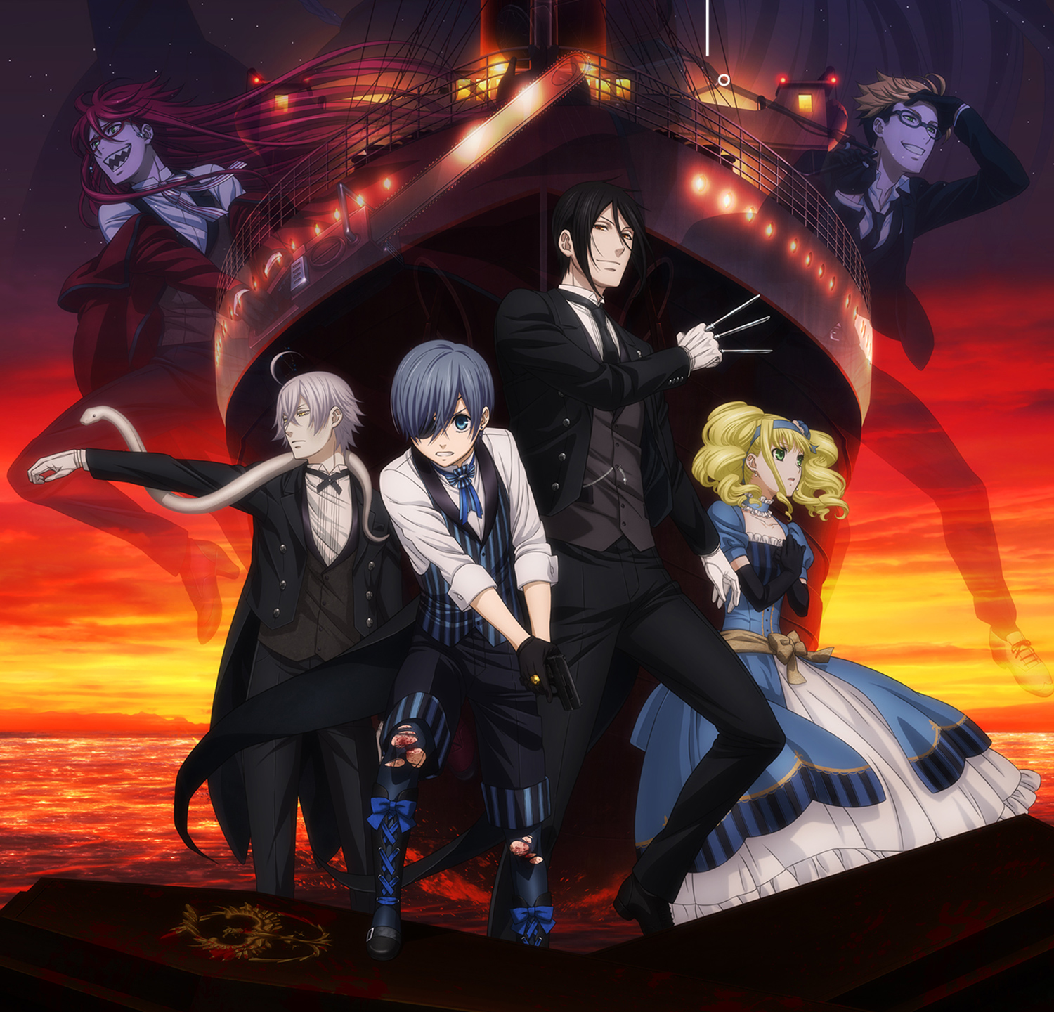 Anime Movies 2017 - Black Butler: Book of the Atlantic