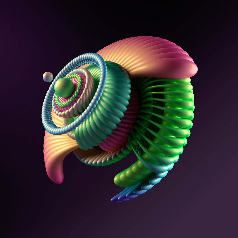 FLOWERBOMB 3d art