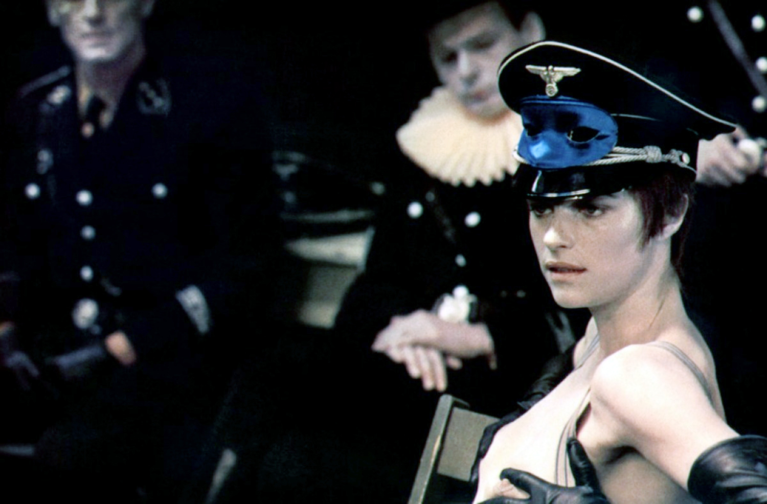 BDSM Movies - The Night Porter, woman with hat