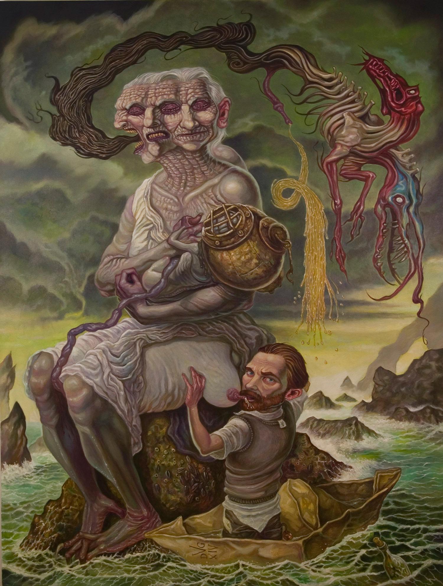 David Van Gough - A Thousand Furlongs of Sea for an Acre of Barren Land