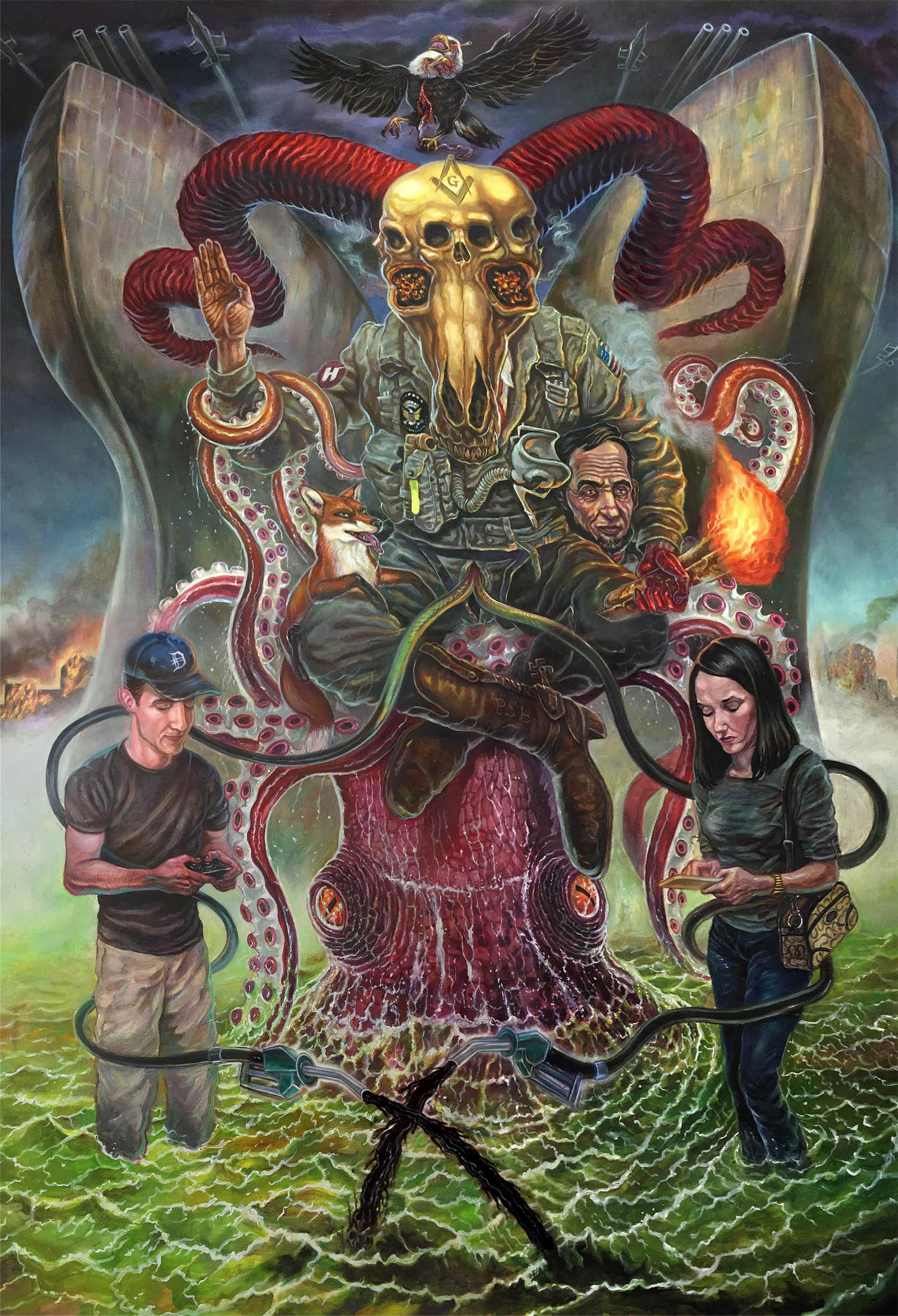 David Van Gough - The Devil