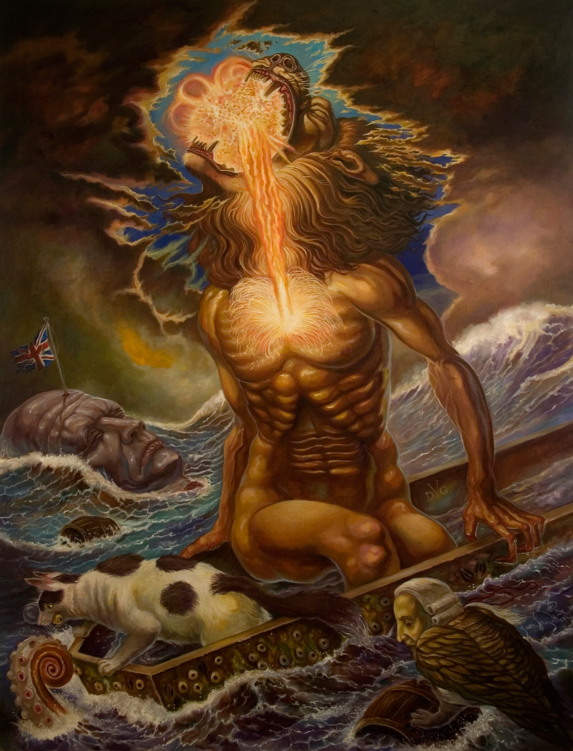 Rot and Transformation: Necrorealist Art by David Van Gough