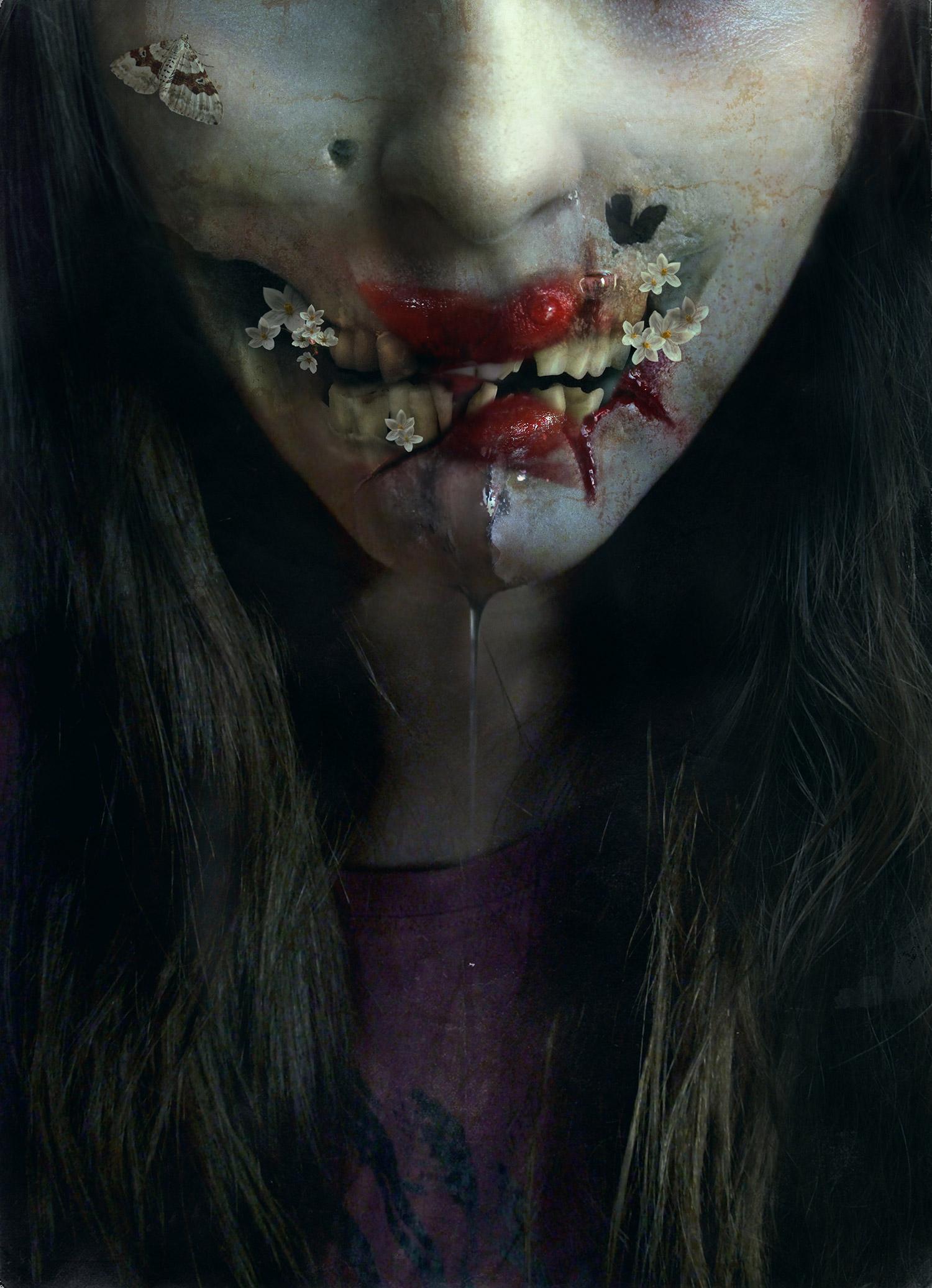 Diana Dihaze - wounded face