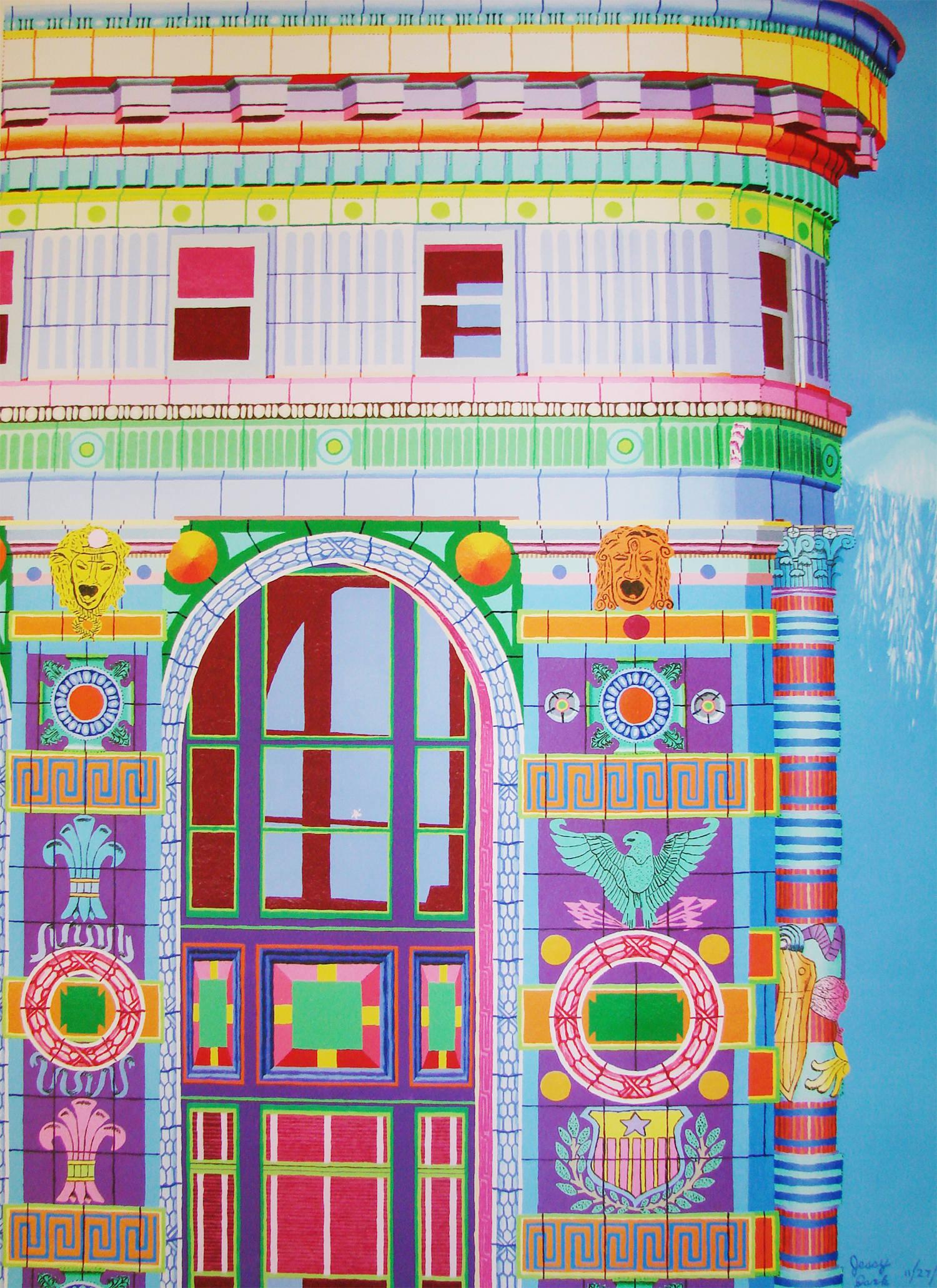 Flatiron Building by jessica park, autistic artist