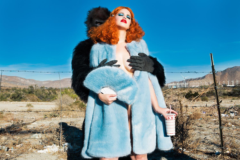 Erotic photographers, Nadia Lee Cohen, ape hands