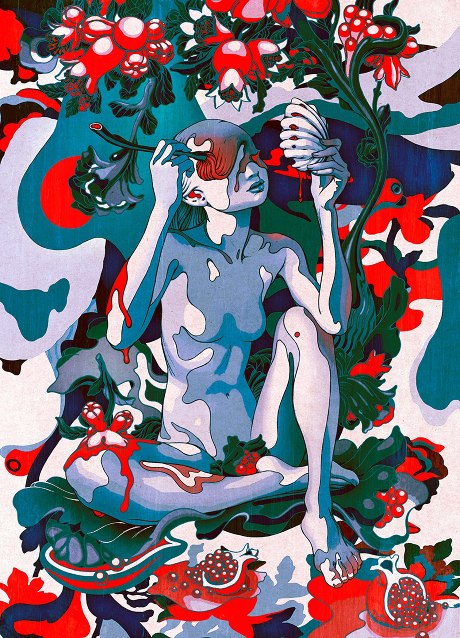 James Jean - Pomegranate