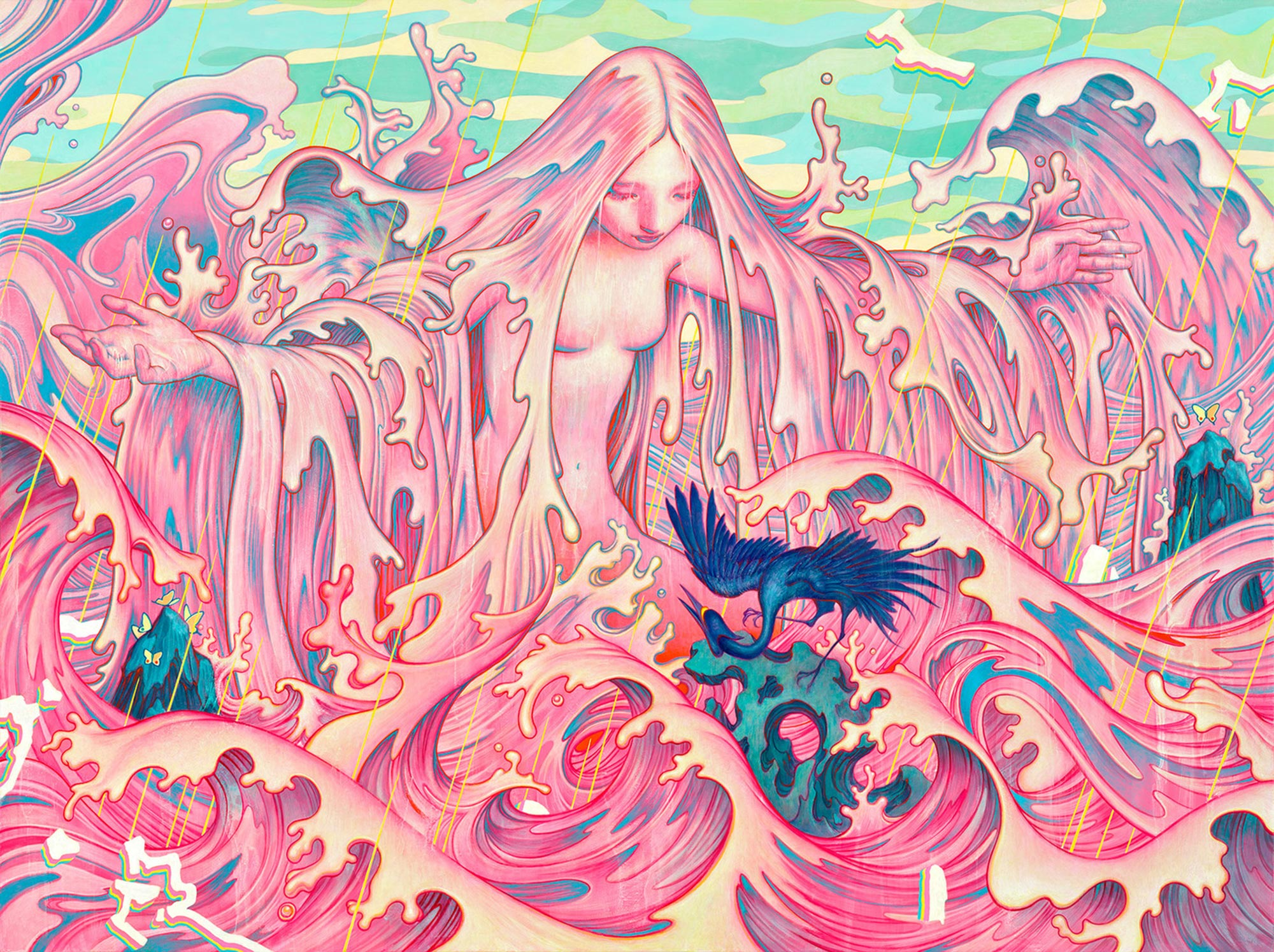 Mind-Melting And Eye-Popping Artwork by James Jean