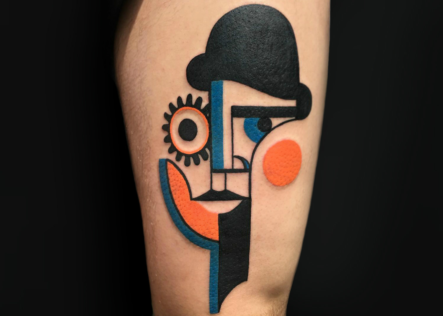 Clockwork Orange tattoo design by Mike Boyd